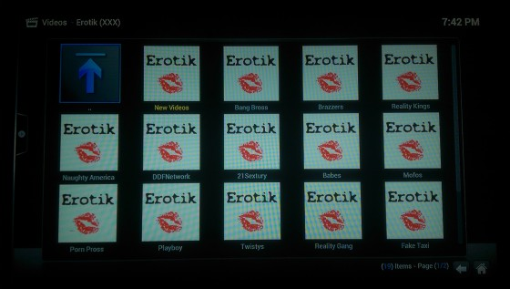 Erotik Video Add-on